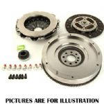 SOLID FLYWHEEL CONVERSION KIT FOR PEUGEOT 308 407 607 807 EXPERT 2.0 HDI 136BHP